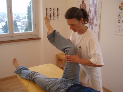 AK Applied Kinesiology Test M. rectus femoris
