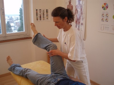 AK Applied Kinesiology Test M.rectus femoris